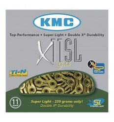 Cadena KMC X11SL 11v Oro