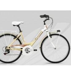 Bici Ferrini JASMINE 6V T-43 blanco crema