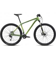 Bici Specialized Crave 29 2015 verde amarillo flúor plata