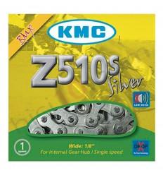 Cadena  KMC Z510S 112 eslabones BMX 1 velocidad