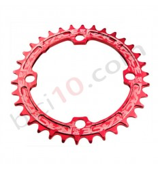 Plato Race Face Single Speed 10v 11v Rojo